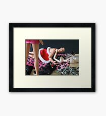 Home early honey?! Framed Print