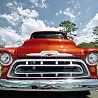 1957 Chevy 3100 Pickup Truck by mal-photography