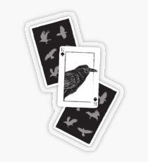 Pegatina transparente Kaz of Spades - Seis de cuervos