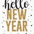 Hallo neues Jahr von kjanedesigns