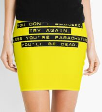 Parachuting Success Mini Skirt