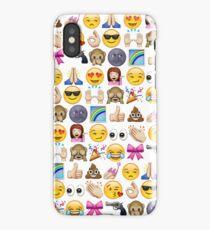 EMOJIS ARE A GALS BEST FRIEND iPhone Case