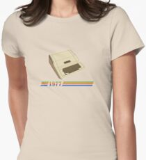 History of Computer Gaming - Apple II Women's Fitted T-Shirt