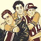 Three brothers by angicita