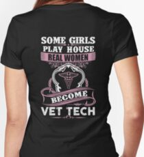 Vet Tech Quotes Stunning Vet Tech Quotes Women's Tshirts & Tops  Redbubble