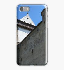 medieval castle against the sky iPhone Case/Skin