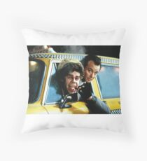 Scrooged Throw Pillow