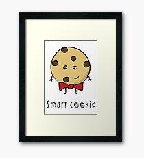 Smart Cookie Framed Print