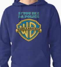 If you see da Police, Warn a Brother Pullover Hoodie