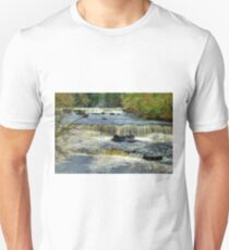 Upper Falls Aysgarth 2 - HDR T-Shirt