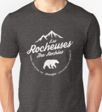 Les Rocheuses - The Rocky Mountains Unisex T-Shirt