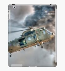 Royal Navy Sea King Helicopter iPad Case/Skin