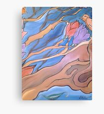 Birds in a Tree Canvas Print