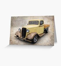 Chevy Truck Greeting Card