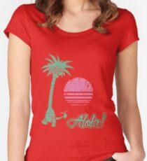 Alolan souvenir  Women's Fitted Scoop T-Shirt