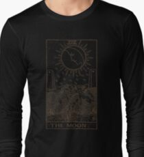 The Moon Tarot Long Sleeve T-Shirt