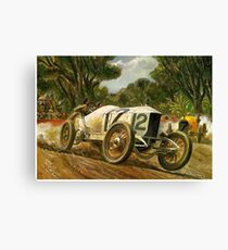 GRAND PRIX; Vintage Auto Racing Print Canvas Print