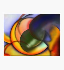 Abstract composition 64 Photographic Print