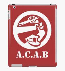 All Cops Are Bastards iPad Case/Skin