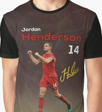 Jordan Henderson 14 Graphic T-Shirt