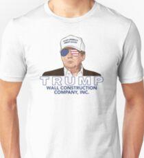 Trump - Wall Construction Co. Shirt Unisex T-Shirt