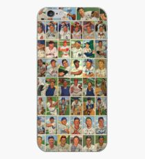 Baseball Card Dreams - 1952 iPhone Case