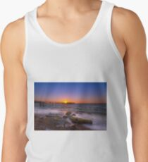 Totland Pier Sunset Tank Top