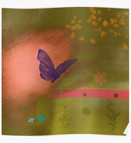 Butterfly fields Poster