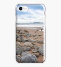 desolate rocky beal beach iPhone Case/Skin