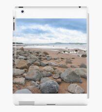 desolate rocky beal beach iPad Case/Skin