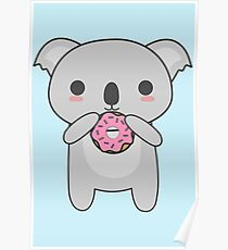Chibi Koala Posters Redbubble