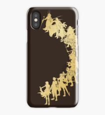Heroes of the Fantasy (gold edition) iPhone Case