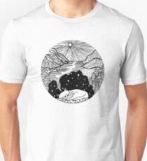 Sleepy Cat Dreams a Dream Unisex T-Shirt