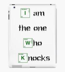 i am the one who knocks - Bodbeli iPad Case/Skin