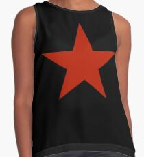 red star Contrast Tank