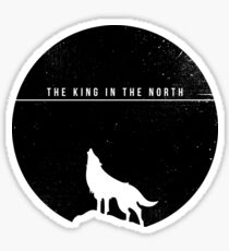 The King In The North Sticker