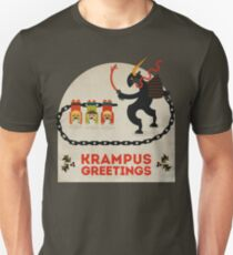 Krampus Greetings T-Shirt