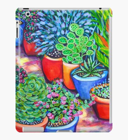 Down the Garden Path iPad Case/Skin