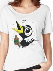 Drinky Crow! DOOK DOOK DOOK! Women's Relaxed Fit T-Shirt