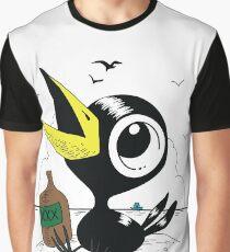 Drinky Crow! DOOK DOOK DOOK! Graphic T-Shirt