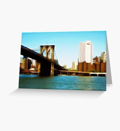 From a Brooklyn Point of View Greeting Card