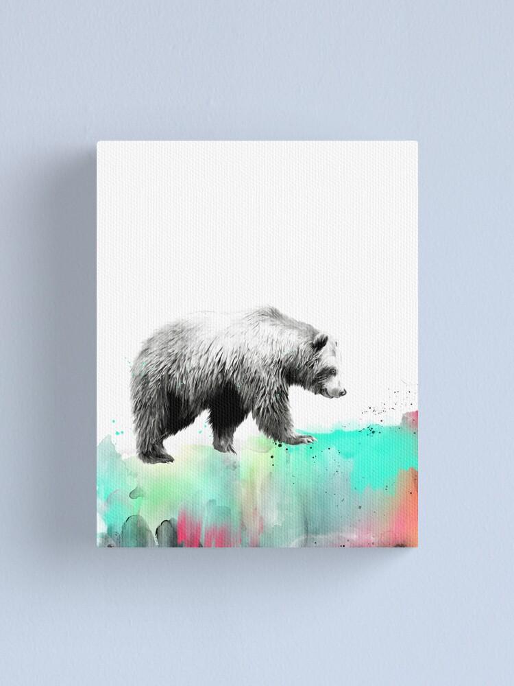 Alternate view of Wild No.1 // Bear Canvas Print