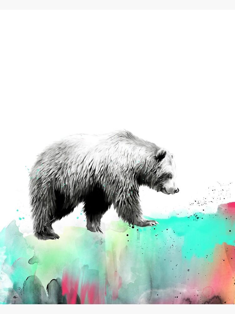 Wild No.1 // Bear by AmyHamilton