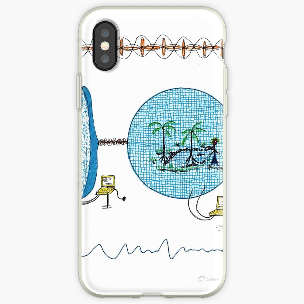 natures periodic table, wormhole / portal iPhone-Hülle & Cover