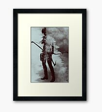 Lara Croft - Tomb Raider v2 Framed Print
