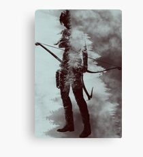 Lara Croft - Tomb Raider v2 Canvas Print