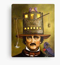 Edgar Allan Poe Metalldruck