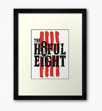 The 8ful eight Framed Print
