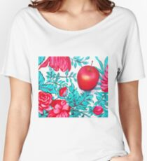 Rosy Apple Women's Relaxed Fit T-Shirt