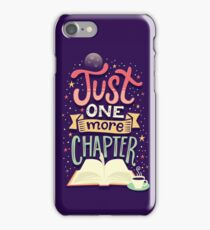 One more chapter iPhone Case/Skin
